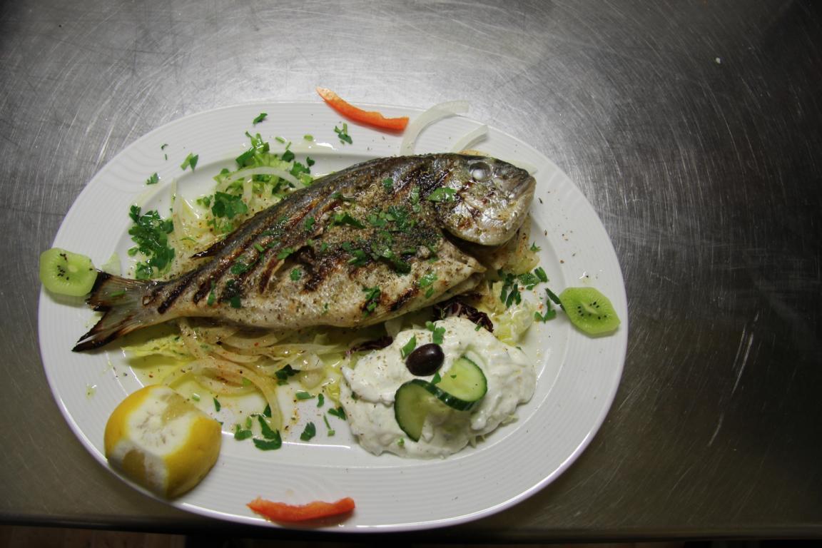 Frische Fischspezialitäten